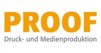 PROOF Druckproduktion Logo